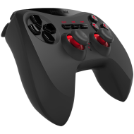 Speedlink STRIKE NX Gamepad - Wireless - for PS3, Up to 10m range, Analogue sticks and pressure-sensitive buttons for perfect control, Up to 8hrs of gaming, black