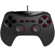 Speedlink STRIKE NX Gamepad - for PS3,ergonomic, Analogue sticks and pressure-sensitive buttons for perfect control,Vibrations ,Cable:1.8m, black