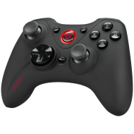 Speedlink XEOX Pro Analog Gamepad - Wireless, Robust 2.4ghz Wireless Technology - Up To 10m,Digital D-Pad, 4 Triggers Plus 7 Front Buttons,Integrated 550mah Li-Polymer Battery,LED Indicator Ring, black