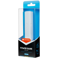 CANYON Power bank 2600mAh built-in Lithium-ion battery, output 5V1A, input 5V1A, White