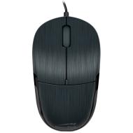 Speedlink JIXSTER Mouse, Fully-fledged 3 button,resolution 1,000dpi,Suitable for left- or right-handers,Rubberised scroll wheel, Cable:1.4, black
