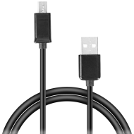 Speedlink Micro-USB Cable, USB-A to Micro-USB,Data transfer speeds of up to 480Mbit/s, 0.90m Basic