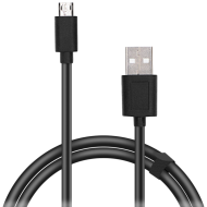 Speedlink Micro-USB Cable, USB-A to Micro-USB, Data transfer speeds of up to 480Mbit/s, 0.75m HQ