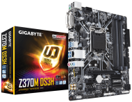 Дънна платка Gigabyte Z370M DS3H, Socket 1151 (300 Series), 4xDDR4