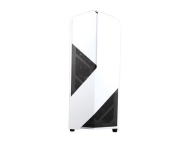 Кутия NZXT NOCTIS 450 White/Blue LED, Mid tower