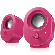 Speedlink SNAPPY Stereo Speakers, 4W RMS output power, USB powered, Volume control, Cable length: 1.2m, berry