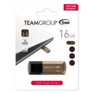 Флаш памет Team Group C155 16GB USB 3.0, Златен