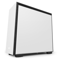 Кутия NZXT H700i Smart Mid-Tower, Matte White