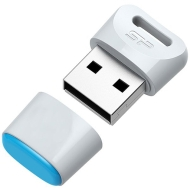 Флаш памет 16GB Silicon Power Touch T06, бял USB 2.0