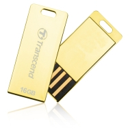 Флаш памет 16GB Transcend JetFlash T3G, златист USB 2.0