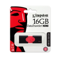 Флаш памет Kingston 16GB USB 3.0 DataTraveler 106, DT106/16GB