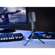Настолен микрофон Hama uRage MIC xStr3am Essential